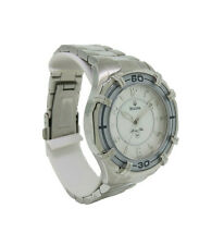 Bulova 96L145 Women's Marine Star Mother of Pearl Round Analog Watch