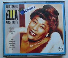 ELLA FITZGERALD (2CD)  POUR L'AMOUR D'ELLA FITZGERALD