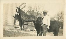 """Bet You Can't Beat Our Livestock"", Arcadia, Wisconsin WI RPPC 1911"