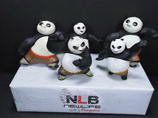 Lot of 5 Kung Fu Panda McDonald's Happy Meal Toys