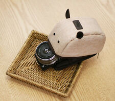 Ciesta Camera Pouch Compact Mouse Design for Mirrorless Beige