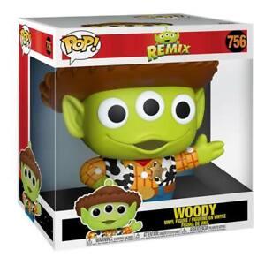 Woody Disney Pixar Alien Remix Over-Sized POP #756 Vinyl Figure FUNKO