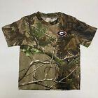 NEW 3T Georgia Bulldogs Realtree Camo T-Shirt Toddler Short Sleeve Shirt Tee