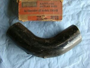1941 42 Chevrolet Master Radiator Outlet Pipe 3656796 Elbow USA 1942