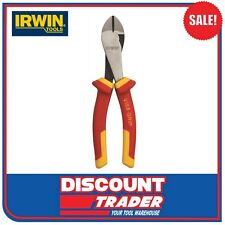 """Irwin Vise Grip 1000V Insulated Diagonal Pliers Side Cutters 200mm 8"""" 10505867NA"""