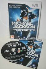 """MICHAEL JACKSON - THE EXPERIENCE"" NINTENDO Wii GAME, EXCELLENT CONDITION"