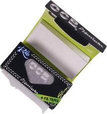 OCB Zigarettenpapier Premium Rolls schwarz / 4 m / Filtertips / 2 bis 24 Rollen