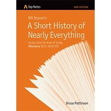 Notes A Short History of Nearly Everything (Study notes for Area of Study: Disco