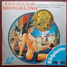 Caligula and und Massalina - PAL Laserdisc - German - Bildplatte EuroVideo