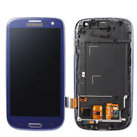 Blau Für Samsung Galaxy S3 i9300 i9305 LCD-Display mit Touchscreen+Tools 4.8""