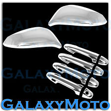 14-16 Toyota RAV4 Chrome Mirror w/TURN Signal+4 Door Handle+Smart KeyHole Cover