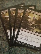 4 Geth's Verdict ~ Black New Phyrexia Mtg Magic Common 4x x4