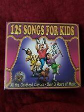 Children's Songs - 125 Songs For Kids 3 CD Set