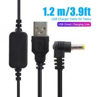 USB Power Charging Cable for Yaesu VX-6R VX7R FT60R VX177 Walkie Talkie
