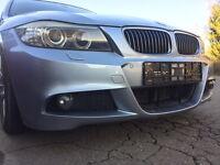BMW LCI M Paket ORIGINAL E90 E91 GITTER links mitte rechts Stoßstange Facelift