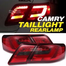 Red Clear color LED Tail Lights Rear Lamps For Toyota Camry tail lamp 2006-2011