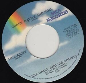 """BILL HALEY - Shake Rattle And Roll   7"""" 45"""