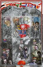 Czech Republic 2016 MNH WWI WW1 Czech Statehood 1916 2v M/S Military Stamps