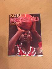 1990 Michael Jordan Beckett Basketball Card Price Guide Issue #1 Patrick Ewing