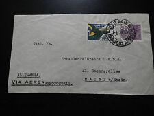 AVIATION.AEROPOSTALE.LIGNE MERMOZ.LETTRE BRESIL/ALLEMAGNE 1933