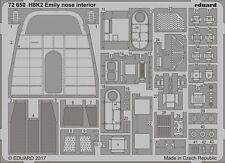 Eduard 1/72 Kawanishi H8K2 Type 2 Emily Nose Interior # 72650
