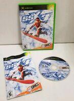 SSX 3 Snowboarding - Microsoft Xbox Original Complete CIB EA Sports Big Tested