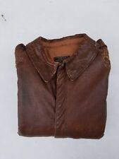 WW2 Original A-2 Flight Jacket Size 40 MFG Rough Wear Clothing Co.