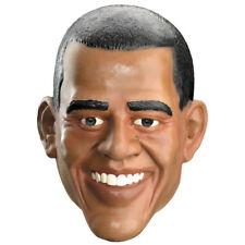 Barack Obama Mask President Of The United States Adult Full Halloween Costume