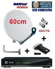 ANTENA PARABOLICA 60CM + LNB SHARP 3D + SOPORTE + QVIART COMBO V2