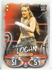 #136 Sarah Logan-Live 2018 Slam Attax