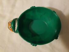 Vintage 1990 TMNT Teenage Mutant Ninja Turtles Raphael Plastic Cereal Bowl