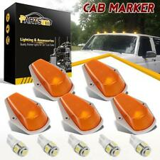 5x For Ford F150 Running Roof Top Cab Clearance Lights Amber+194 LED Lamp