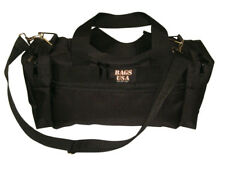 Gym bag with U opening for easy excess,front pocket for cell phone,Made in USA.