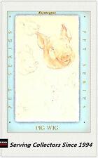 Australia (Tempo) Beatrix Potter Trading Card Pet Card PS8 Pig Wig Card