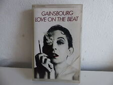 K7 SERGE GAINSBOURG Love on the beat 822849 4