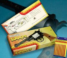 SNAKE REVOLVER EDISON GIOCATTOLI OVP CAP GUN 80er MATICAMORCES 13 SCHUSS PISTOLE