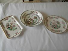 JOB LOT OF THREE INDIAN TREE DESIGN PLATES COALPORT/  ROYAL STANDARD/MADDOCK