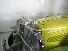 1/18 Duesenberg Metal Hood Ornament For Hubley Ertl Signature