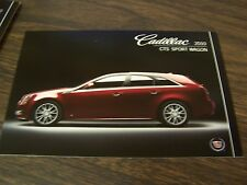 2010 CADILLAC CTS SPORT WAGON - DEALERSHIP POST CARDS - MINT