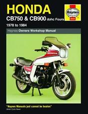 Haynes Workshop Manual for HONDA CB CB750 & CB900 dohc models 1978 to 1984