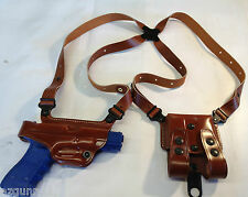 Galco Miami Classic Shoulder Holster, LH Tan Glock 36, .45ACP # MC431
