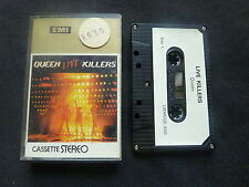 QUEEN LIVE KILLERS ULTRA RARE SOUTH AFRICAN CASSETTE TAPE!