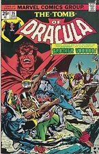 The Tomb of Dracula #35. VG+. 1975
