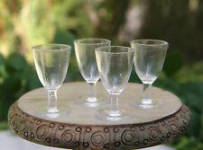 Miniature Dollhouse FAIRY GARDEN Accessories ~ 4 Plastic Wine Goblet Glasses