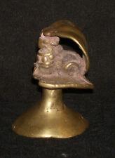 Antique Indian Hindu Traditional Ritual Bronze Naga And Nandi Rare