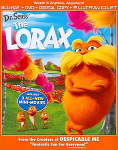 Dr. Seuss The Lorax (Blu-ray/DVD, 2012, 2-Disc Set Plus Digital Copy Code