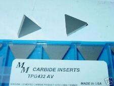 TPG 432 AV MICROMETAL CARBIDE INSERTS