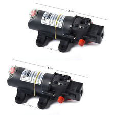 2 Pack 12 V BOAT RV WATER PRESSURE AUTOMATIC PUMP REPL FLOJET 35 PSI 1.2 GPM