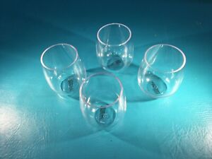 Shatterproof Acrylic Wine Glass Unbreakable Triton Stemless Dishwasher Safe Cups
