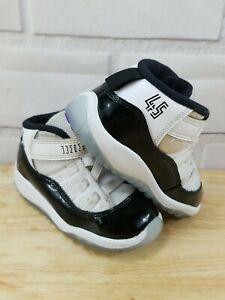 Nike Air Jordan 11 Retro (TD) Concord Toddler Sz 7C Basketball Shoes 378040-100